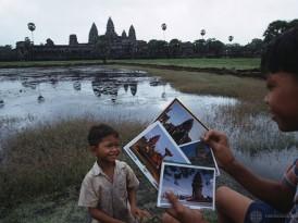 Buddha Face; Angkor Wat, Cambodia