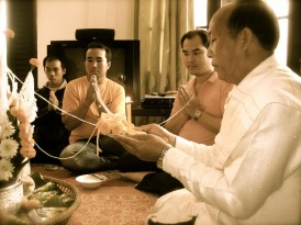 Calling of the Souls, An invitation to a Laos Baci Ceremony