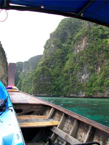 Travel Stories, Kayaking in Lagoon Phi