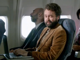 "GOGO Creates ""Trav"" for In-Flight WiFi – TV Commerical Spot"