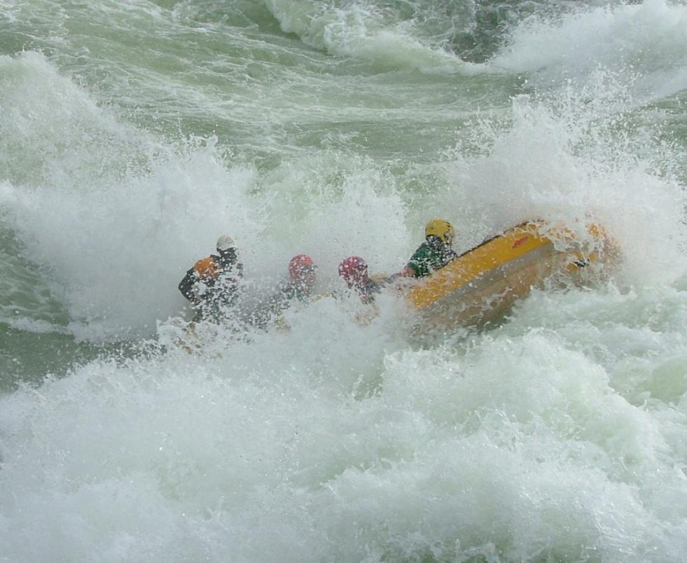 Travel Stories, Uganda White Water Rafting