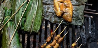 food in Coca, Ecuador