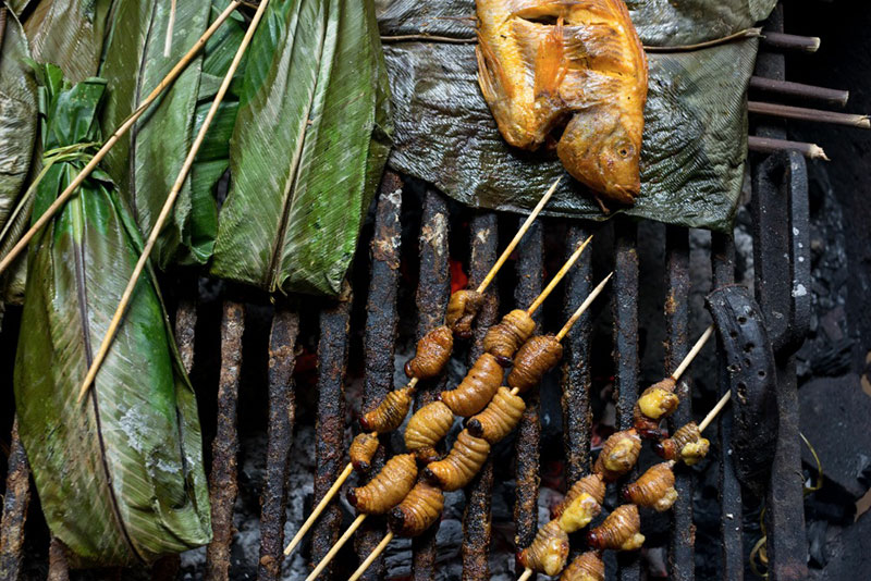 food in Coca, Ecuador