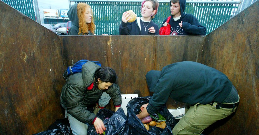 dumpster diving in seattle, washington