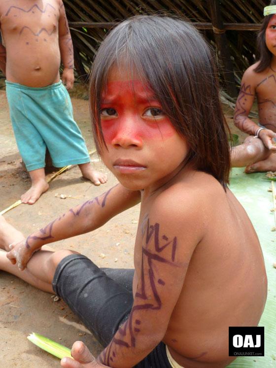 Huaorani kid