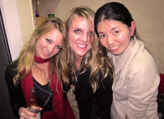 at the club fuzho china, nightlife