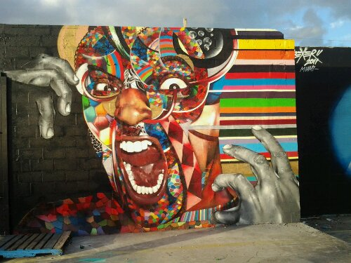 Wynwood, Miami Graffiti | Mural | Art Basel