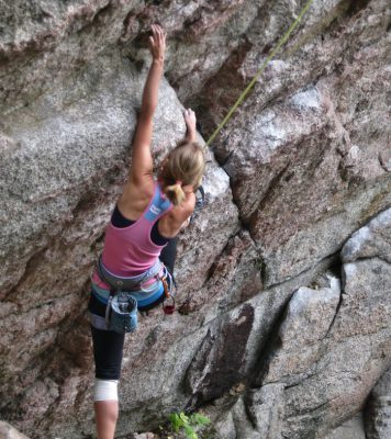 rock climbing Quebec
