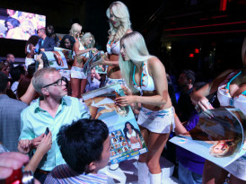 Miami Dolphin Cheerleaders | 2014 Calendar Party