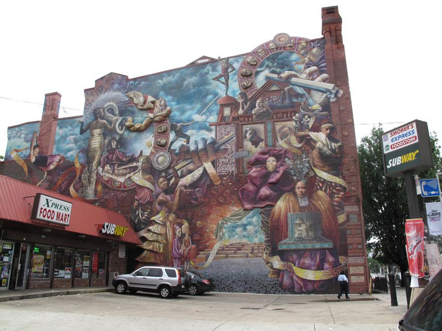 philadelphia graffiti, murals