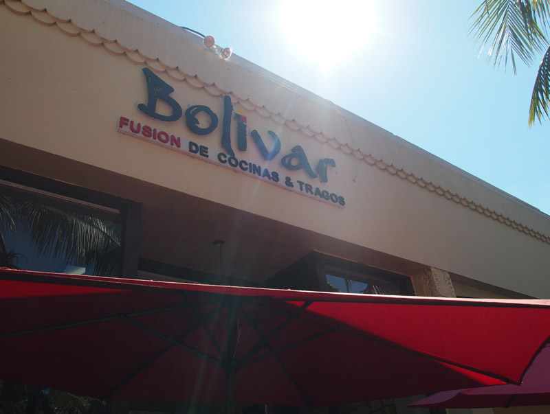 Bolivar Restaurant in South Beach, Miami Food Tour