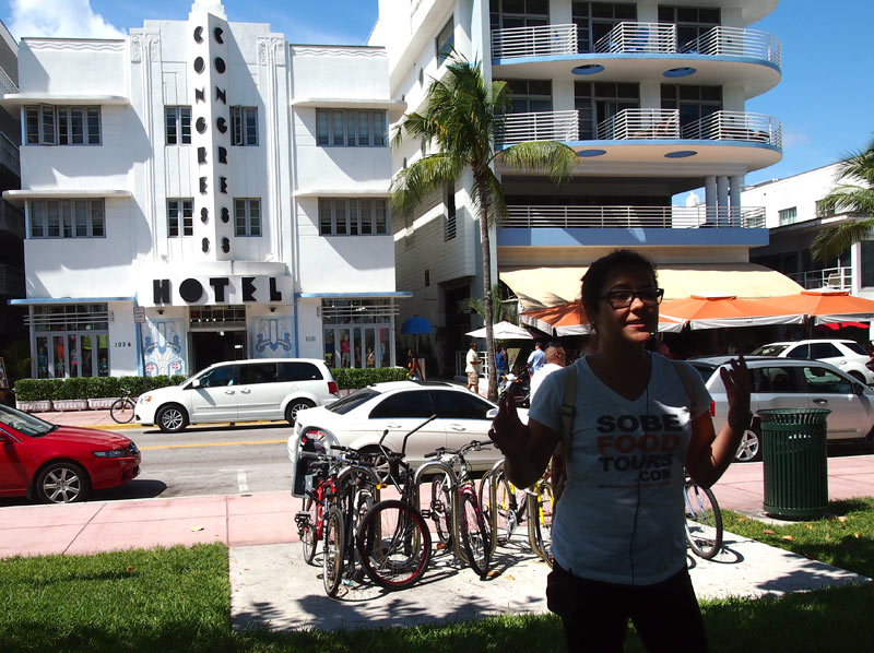 art deco tour with miami food tour