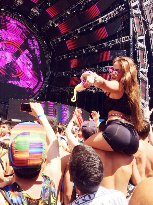 booty ultra music 2014 hot girl