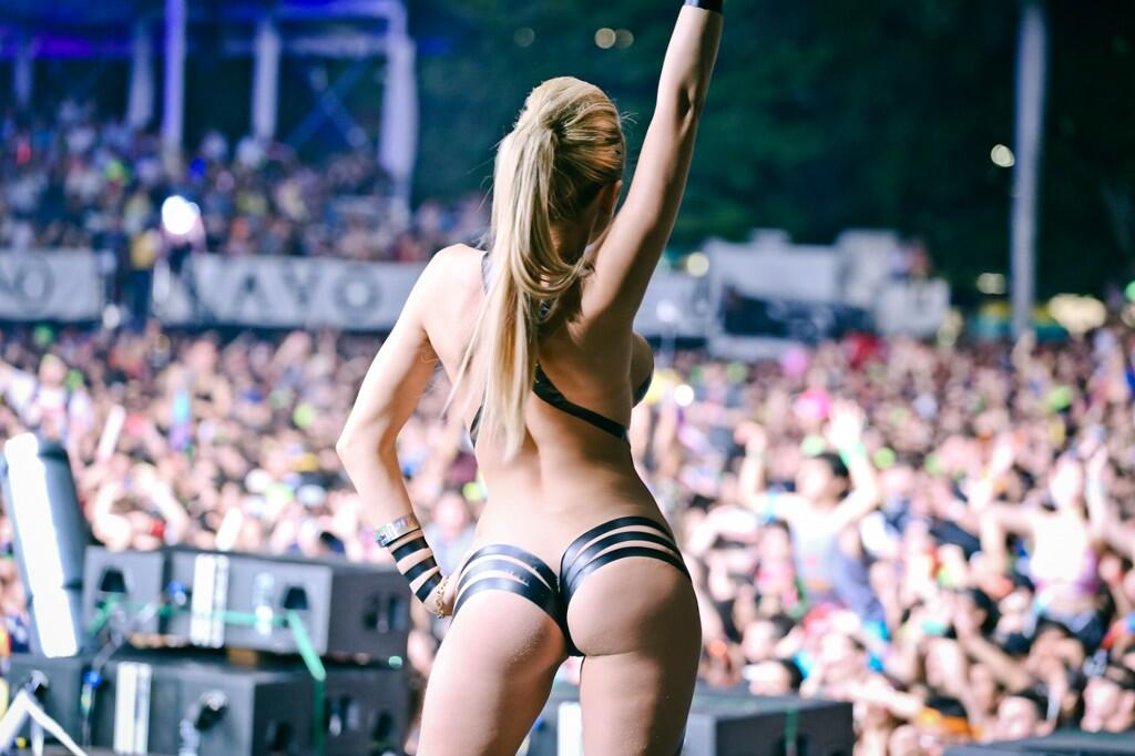 hot girls Ultra Miami 2014