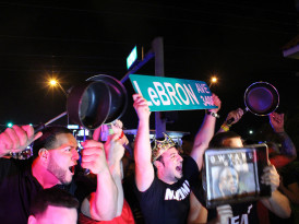 What Happens in Miami when the Heat win! | VIDEOS , PHOTOS