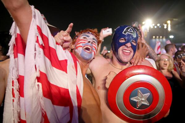american world cup fans usa