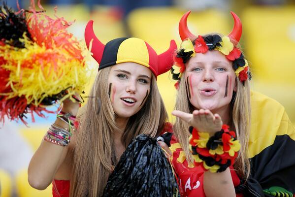 belgium hot girls world cup
