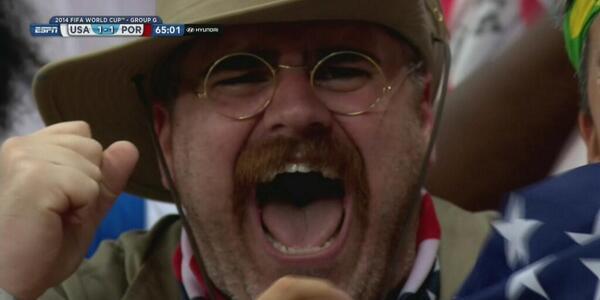 world cup fan americans in brazil