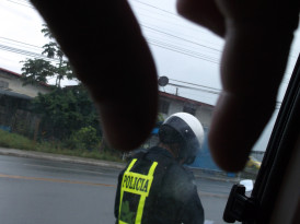 Police Cars are Cheaper Than Taxis: How to Seduce a Panamanian Cop | Bocas del Toro, Panama