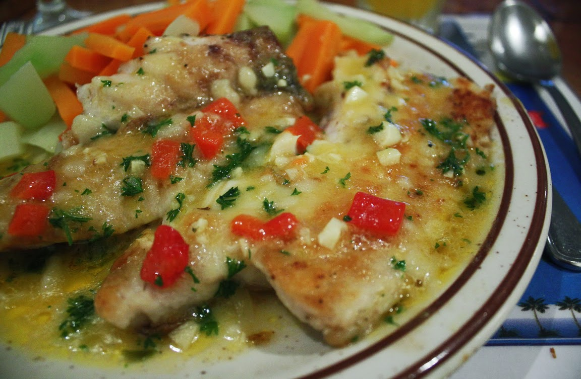 Panama fish, Food, Corvina