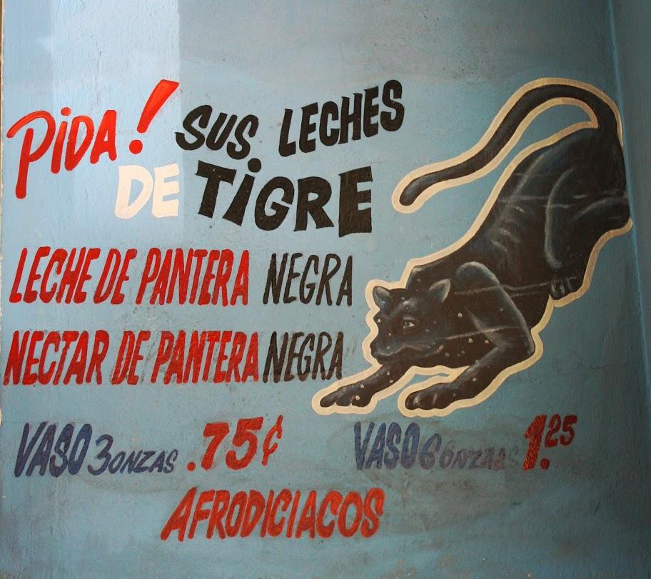 Leche de Tigre, food in panama, aphrodisiac