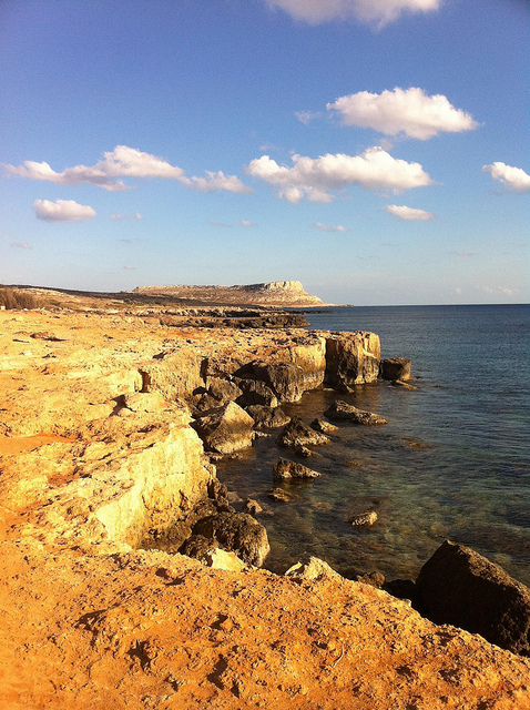 cape greco national park in ayia napa
