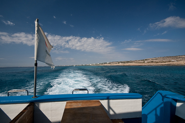 boating in ayia napa