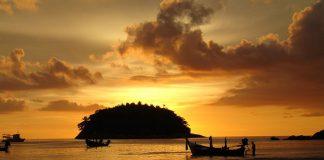 Phuket Island Sunset, Thailan