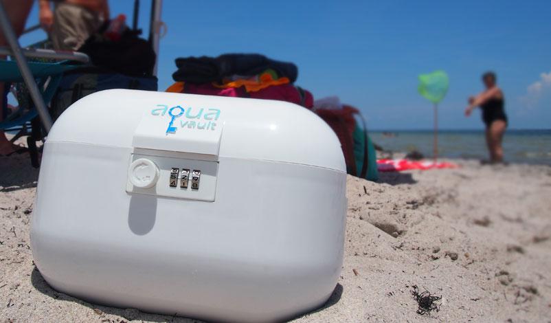 beach security, aquavault