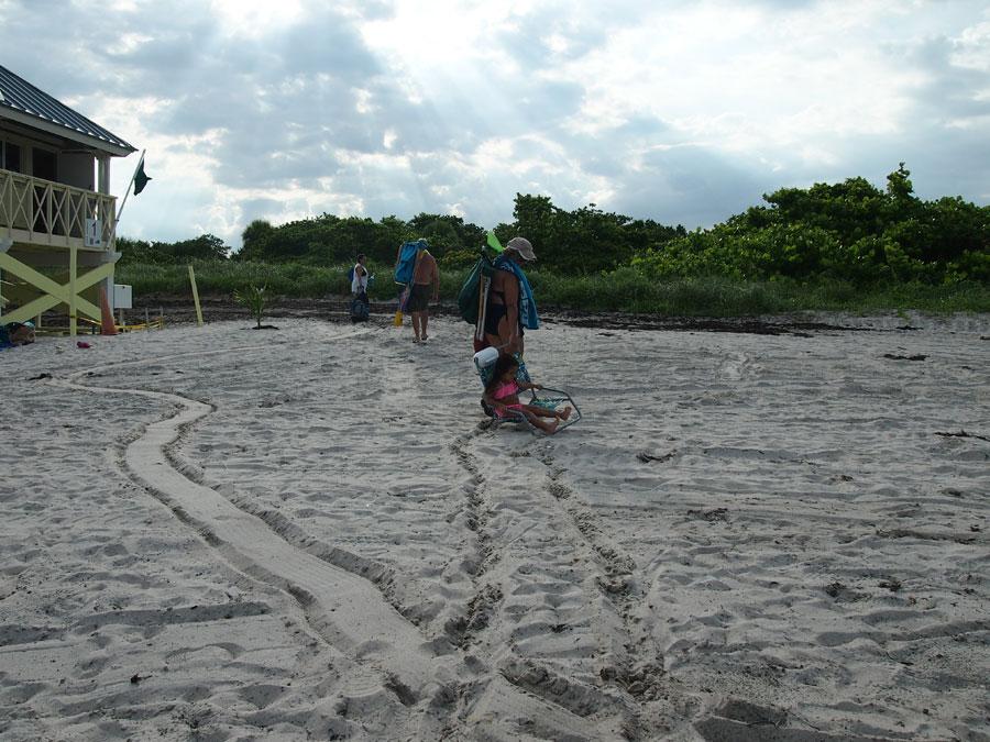 stealing aquavault, beach safe