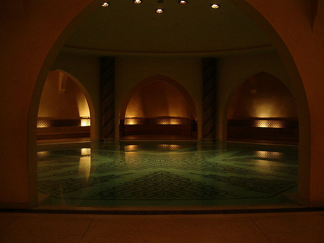 Hammam Morrocco bath house