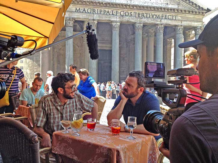 Zane Filming Chug in Rome