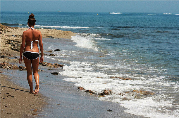 malaga beach spain