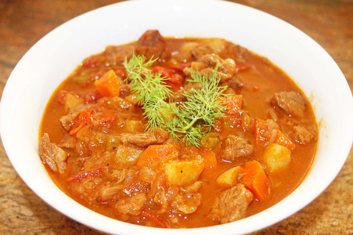 hungarian beef stew recipe