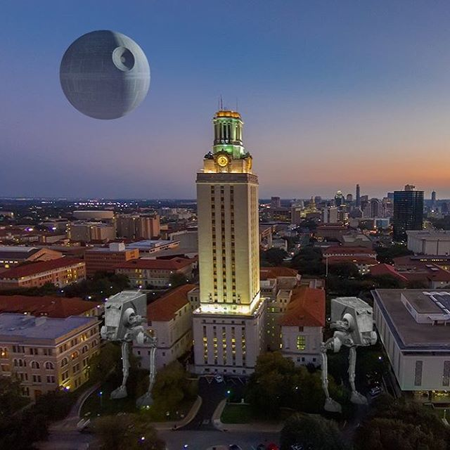 May the fourth be with you in Austin, Texas