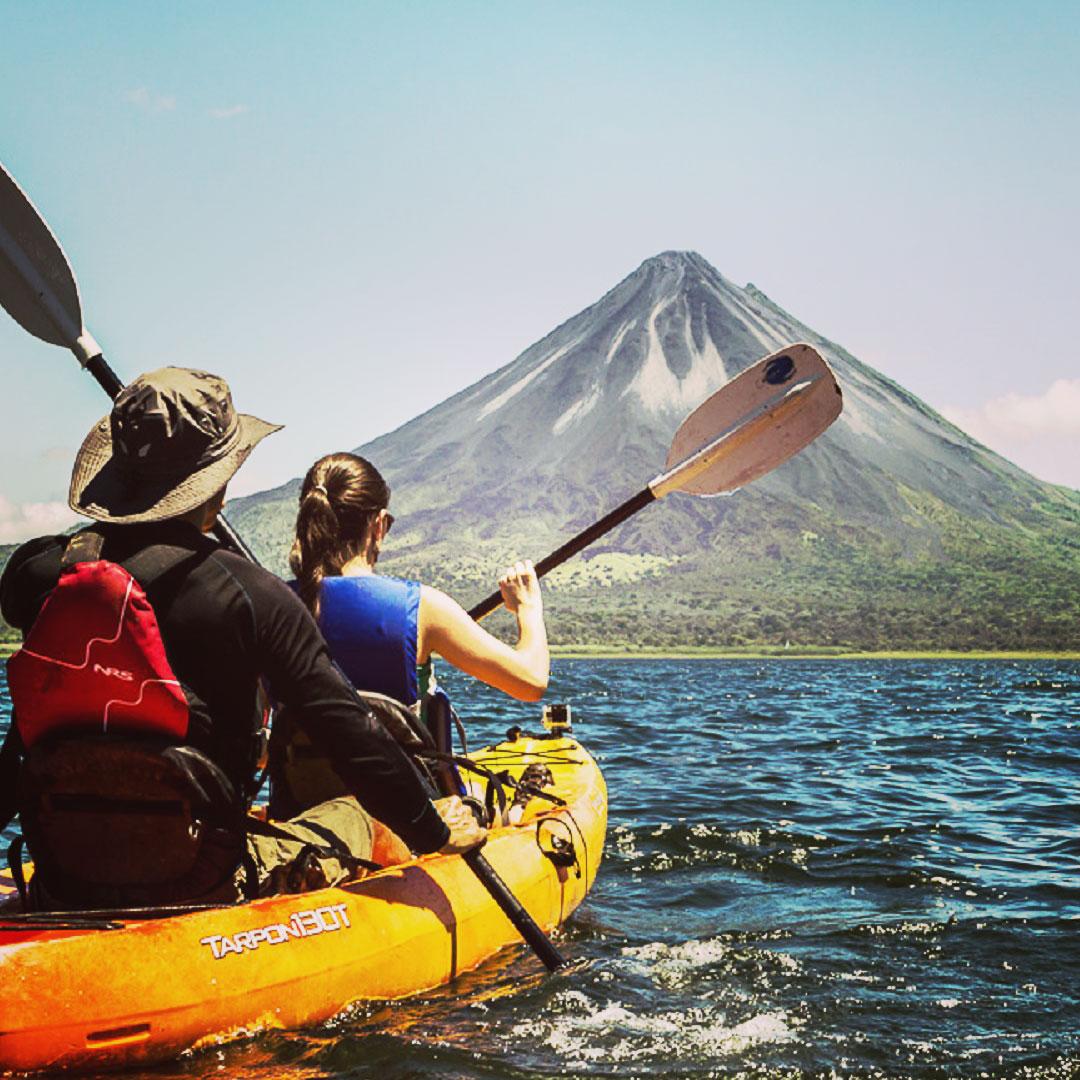 Arenal Volcano, rafting